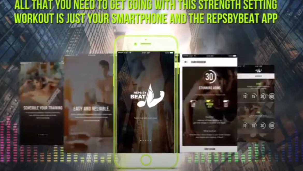 Animated Corporate Video Services For Fitness Business- Mobile Application